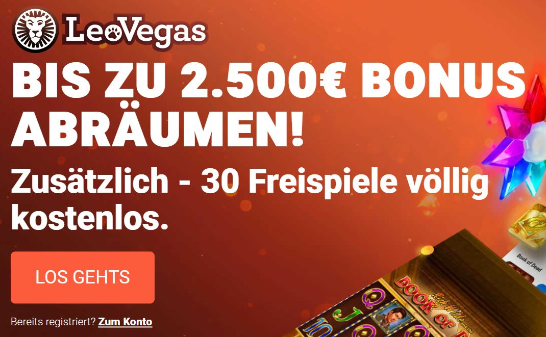 welcome bonus leovegas