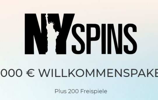 welcome bonus nyspins