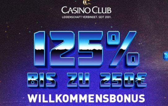 welcome bonus casino club