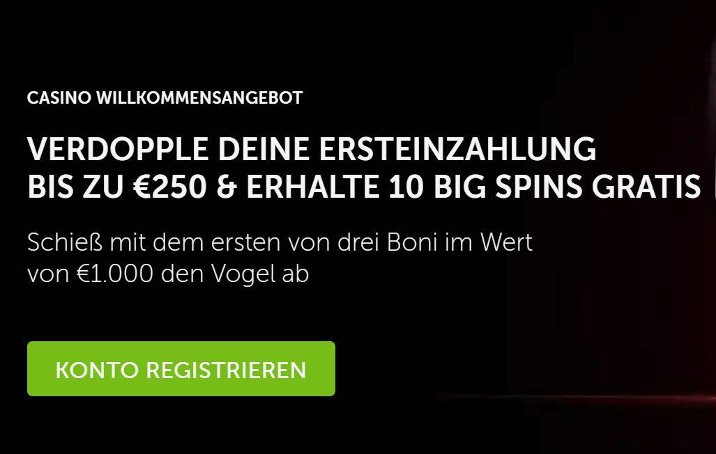 bestafe bonus €250 bonus + 10 big spins