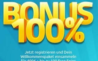 lucky dino 100% bonus + 20 free spins