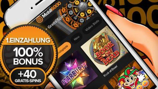 welcome bonus mobil6000