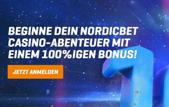 nordicbet 100% bonud