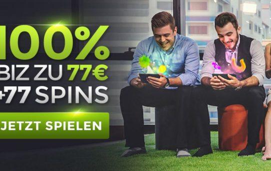 generation vip €77 bonus + 77 free spins