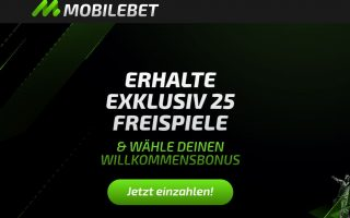 mobilebet 25 free spins