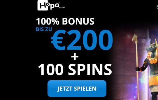 hopa de 200 euro bonus
