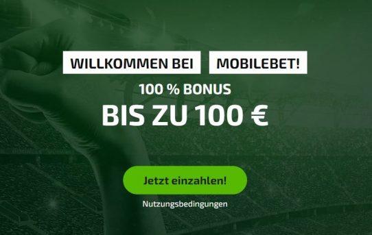 mobilebet 100 euro bonus