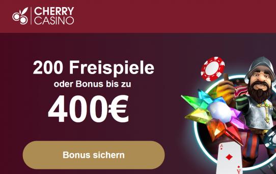 cherry willkommensbonus