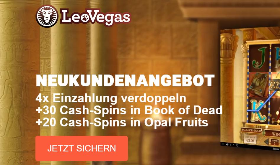 Leo Vegas Bonus Ohne Einzahlung