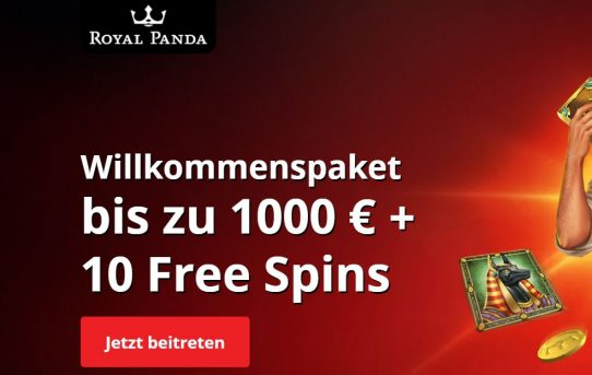 royal panda 1000 euro bonus