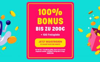 Caxino 100% bonus bis zu 200 euro und 100 spins