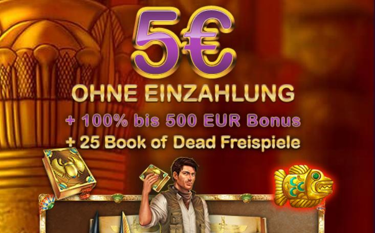 lord lucky 5 euro gratis