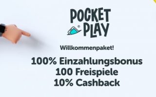 pocket play bonus