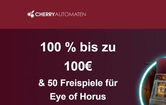 CherryAutomaten willkommensbonus